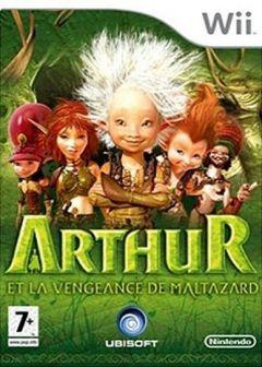 Jaquette de Arthur et la Vengeance de Maltazard Wii