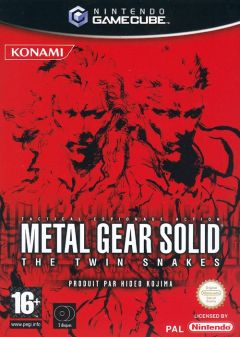 Jaquette de Metal Gear Solid : The Twin Snakes GameCube