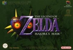 Jaquette de The Legend of Zelda : Majora's Mask Nintendo 64