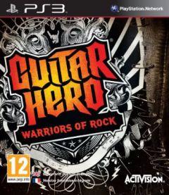 Jaquette de Guitar Hero : Warriors of Rock PlayStation 3