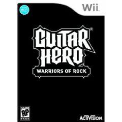 Jaquette de Guitar Hero : Warriors of Rock Wii