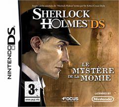 Jaquette de Les Aventures de Sherlock Holmes : Le Mystère de la Momie DS