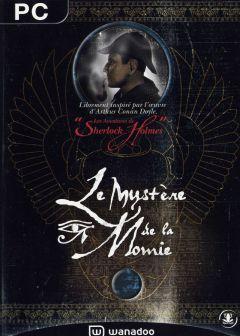 Jaquette de Les Aventures de Sherlock Holmes : Le Mystère de la Momie PC