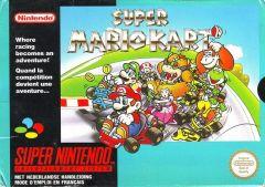 Jaquette de Super Mario Kart Super NES