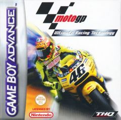 Jaquette de MotoGP : Ultimate Racing Technology DS