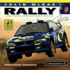 Jaquette de Colin McRae Rally PC