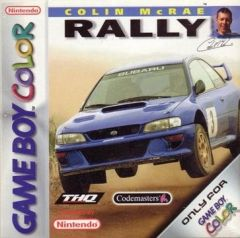 Jaquette de Colin McRae Rally Game Boy Color