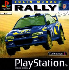 Jaquette de Colin McRae Rally PlayStation