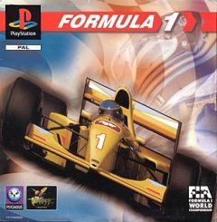 Jaquette de Formula 1 PlayStation