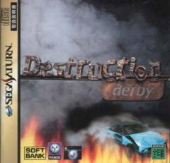 Jaquette de Destruction Derby Sega Saturn