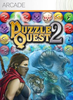 Jaquette de Puzzle Quest 2 Xbox 360