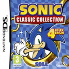 Jaquette de Sonic Classic Collection DS