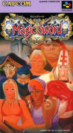 Jaquette de Magic Sword Super NES