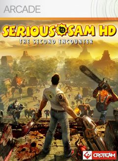Jaquette de Serious Sam HD : The Second Encounter Xbox 360