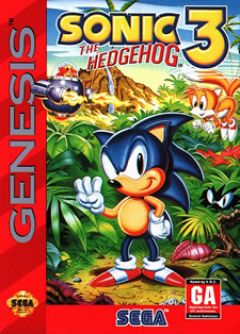 Sonic the Hedgehog 3 (Megadrive)