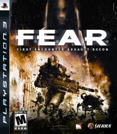 Jaquette de F.E.A.R. PlayStation 3