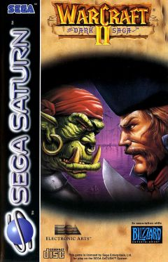 Jaquette de Warcraft II : The Dark Saga Sega Saturn