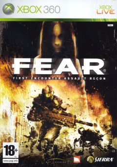 Jaquette de F.E.A.R. Xbox 360