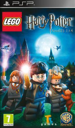 Jaquette de LEGO Harry Potter : Années 1 à 4 PSP