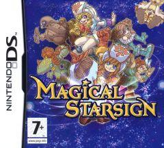 Jaquette de Magical Starsign DS