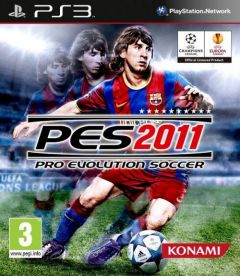 Jaquette de PES 2011 PlayStation 3