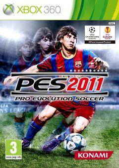 Jaquette de PES 2011 Xbox 360