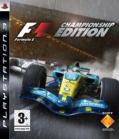 Jaquette de F1 Championship Edition PlayStation 3