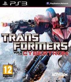 Jaquette de Transformers : La Guerre pour Cybertron PlayStation 3