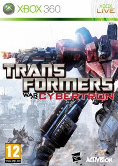 Jaquette de Transformers : La Guerre pour Cybertron Xbox 360