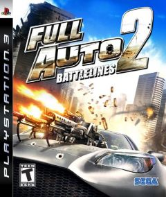 Jaquette de Full Auto 2 : Battlelines PlayStation 3
