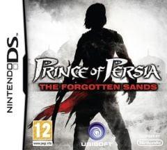 Jaquette de Prince of Persia : Les Sables Oubliés DS