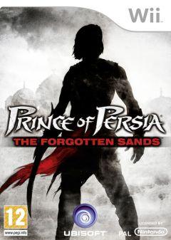 Jaquette de Prince of Persia : Les Sables Oubliés Wii