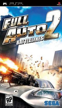Jaquette de Full Auto 2 : Battlelines PSP