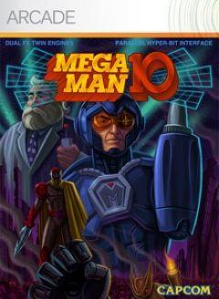 Jaquette de Mega Man 10 Xbox 360