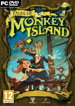 Jaquette de Tales of Monkey Island PC