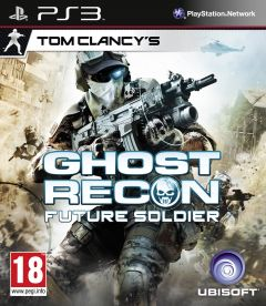 Jaquette de Ghost Recon Future Soldier PlayStation 3