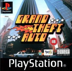 Jaquette de Grand Theft Auto PlayStation