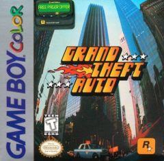 Jaquette de Grand Theft Auto Game Boy Color