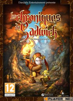 Jaquette de Les Chroniques de Sadwick : The Whispered World PC