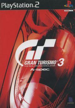 Jaquette de Gran Turismo 3 PlayStation 2