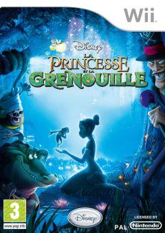 Jaquette de La Princesse et la grenouille Wii