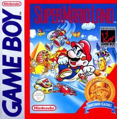 Jaquette de Super Mario Land Game Boy