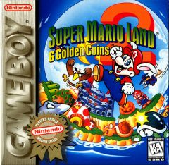 Jaquette de Super Mario Land 2 Game Boy