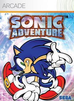Jaquette de Sonic Adventure Xbox 360