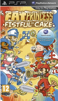 Jaquette de Fat Princess : Fistful of Cake PSP