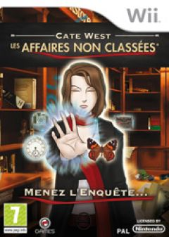Jaquette de Cate West : les Affaires Non Classées Wii