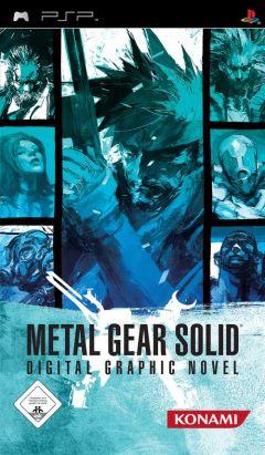 Jaquette de Metal Gear Solid Digital Graphic Novel PSP