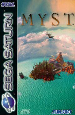 Jaquette de Myst Sega Saturn
