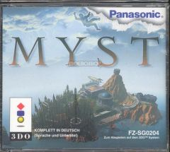 Jaquette de Myst 3DO