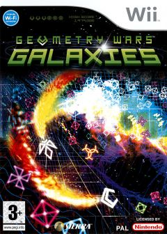 Jaquette de Geometry Wars : Galaxies Wii